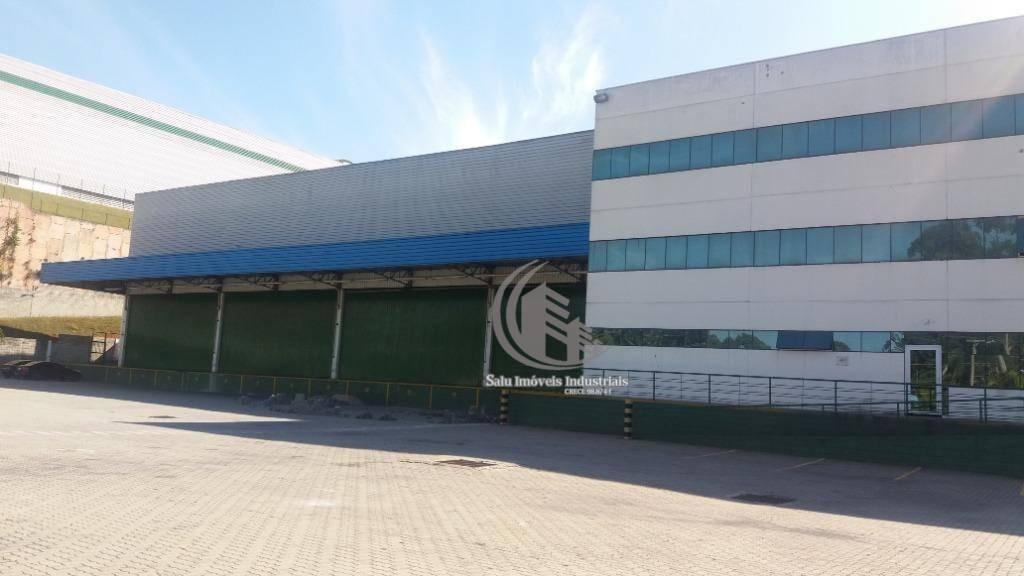 galpão para alugar, 5111 m² por r$ 120.000,00/mês - cidade aracilia - guarulhos/sp - ga0320