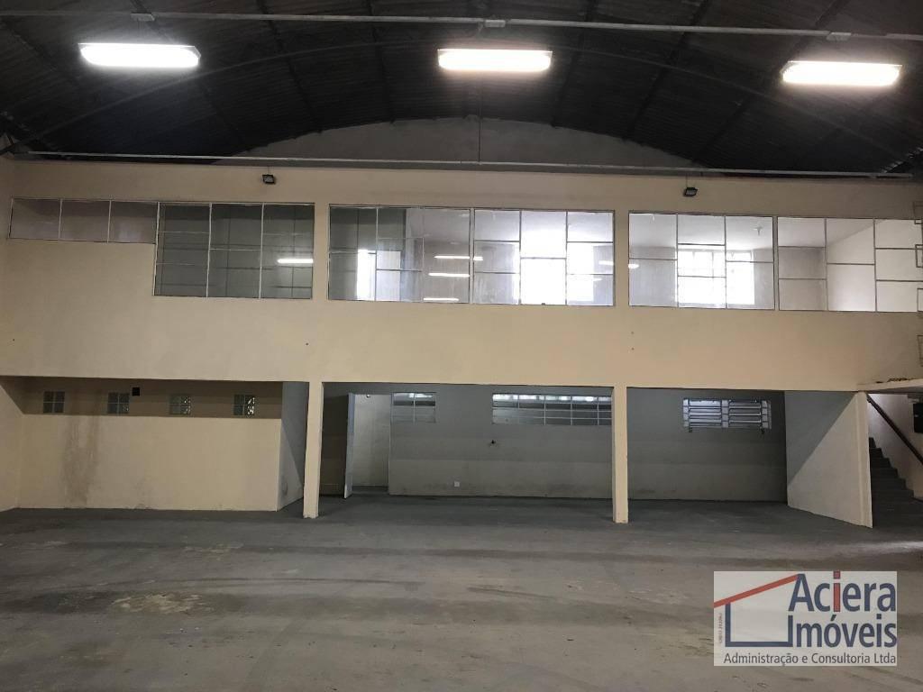galpão para alugar, 536 m² - jardim fontana - cotia/sp - ga0509