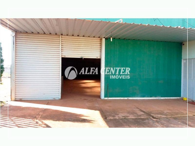 galpão para alugar, 537 m² por r$ 3.700/mês - zona rural - guapó/go - ga0124