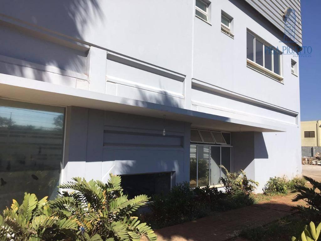 galpão para alugar, 5600 m² por r$ 76.000,00/mês - betel - paulínia/sp - ga0007