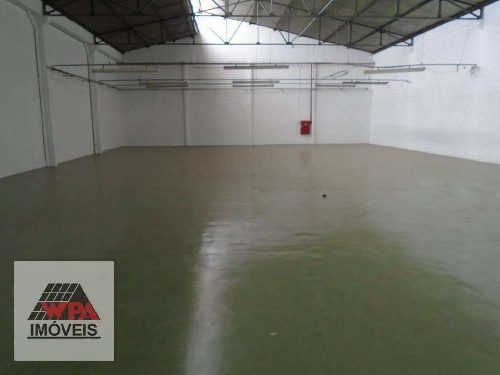 galpão para alugar, 579 m² por r$ 5.500,00/mês - loteamento industrial nossa senhora de fátima - americana/sp - ga0077