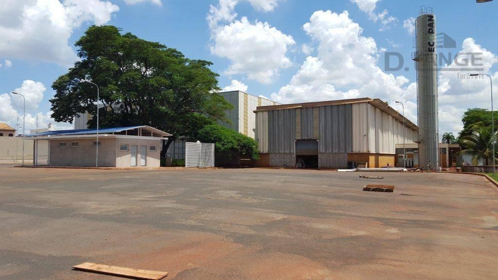 galpão para alugar, 5976 m² por r$ 100.000,00/mês - betel - paulínia/sp - ga0391