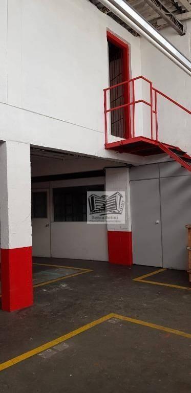 galpão para alugar, 600 m² por r$ 6.500/mês - mooca - são paulo/sp - ga0117