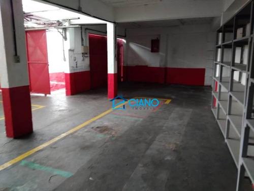 galpão para alugar, 600 m² por r$ 7.500/mês - parque da mooca - são paulo/sp - ga0208