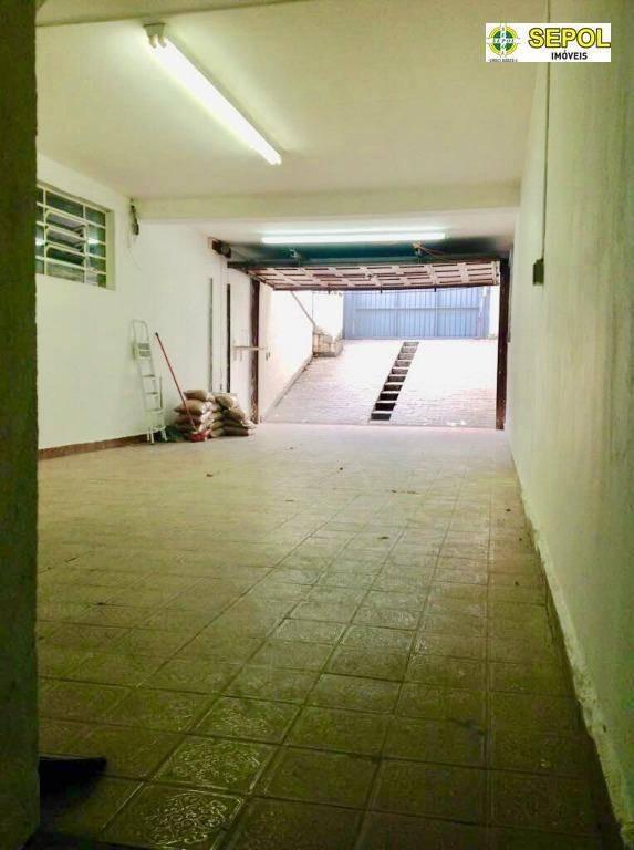 galpão para alugar, 600 m² por r$ 7.900,00/mês - vila formosa - são paulo/sp - ga0026