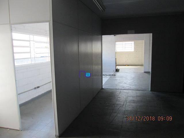 galpão para alugar, 650 m² por r$ 9.000,00/mês - jardim santo elias - são paulo/sp - ga0730