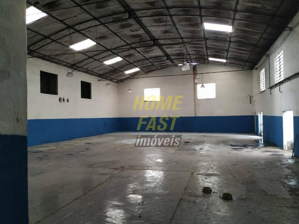 galpão para alugar, 660 m² por r$ 5.000,00/mês - cidade industrial satélite de são paulo - guarulhos/sp - ga0288