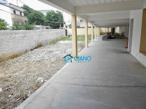 galpão para alugar, 680 m² por r$ 21.000/mês - aclimação - são paulo/sp - ga0243