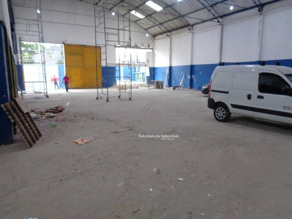 galpão para alugar, 700 m² por r$ 12.000/mês - cidade industrial satélite de são paulo - guarulhos/sp - ga0367