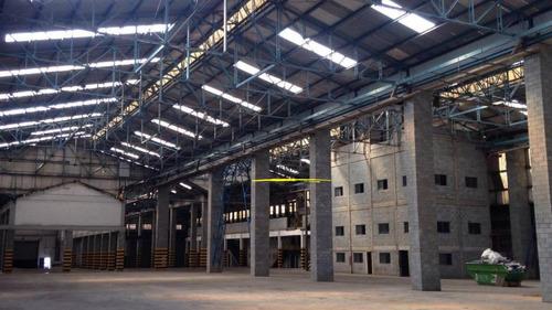 galpão para alugar, 7400 m² por r$ 96.200/mês - parque da mooca - são paulo/sp - ga0042