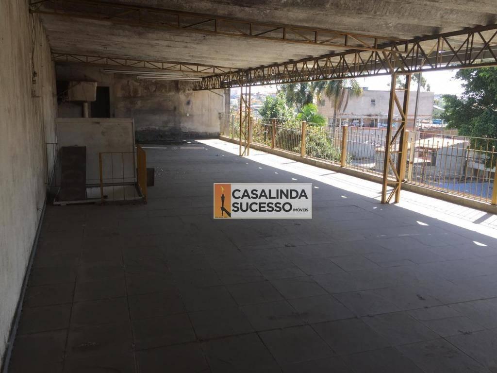 galpão para alugar, 750 m² por r$ 8.500/mês - cidade líder - são paulo/sp - ga0032