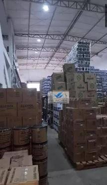 galpão para alugar, 800 m² por r$ 16.000,00/mês - macuco - santos/sp - ga0039