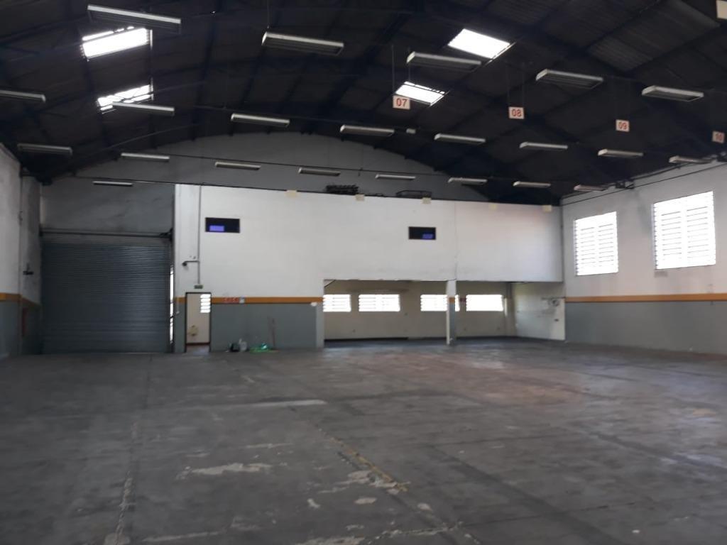 galpão para alugar, 850 m² por r$ 13.750,00/mês - vila galvão - guarulhos/sp - ga0019