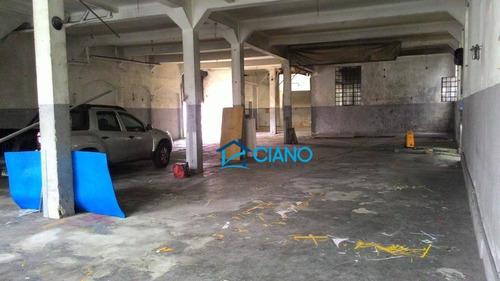 galpão para alugar, 865 m² por r$ 25.990/mês - belenzinho - são paulo/sp - ga0198