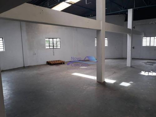 galpão para alugar, 900 m² por r$ 7.000/mês - jardim nove de julho - são paulo/sp - ga0055
