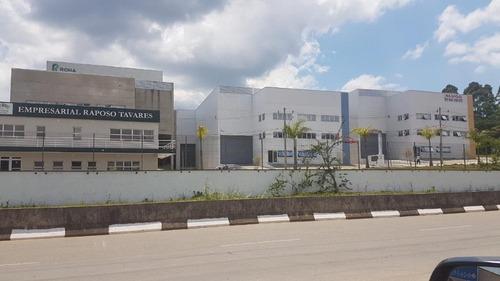 galpão para alugar, 910 m² por r$ 21.006/mês - centro - vargem grande paulista/sp - ga0154