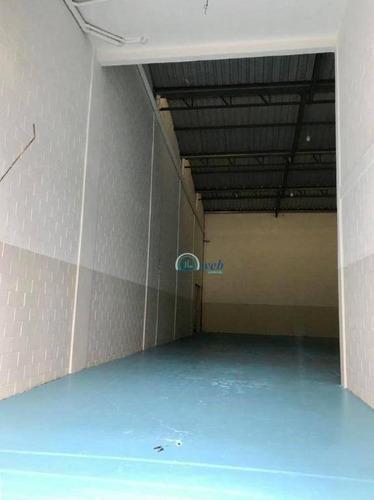 galpão para alugar com acesso a rod. anchieta, 1400 m² por r$ 26.000/mês - vila campestre - são bernardo do campo/sp - ga0080