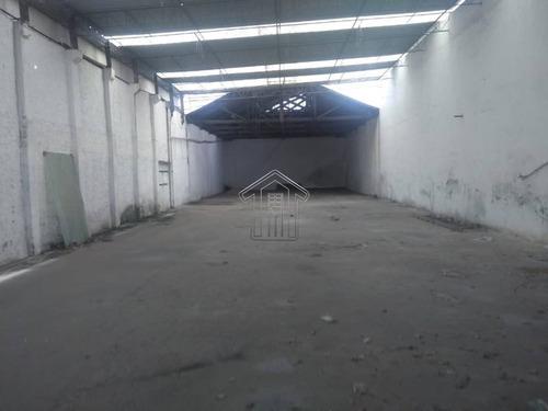 galpão para locação com show room. 450 metros de área construída. - 11001gi