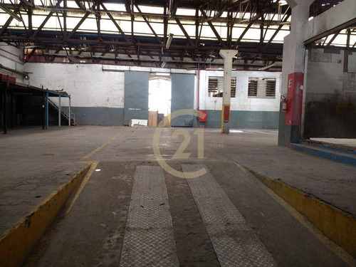 galpão para locação em uma das melhores localizações na vila leopoldina, 3.420m², acesso pela rua da frente e do fundo. - ga0256