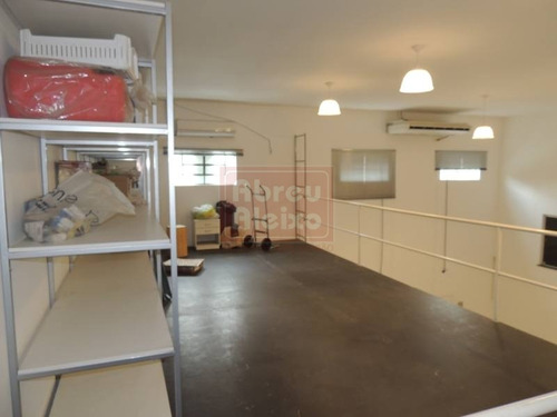 galpão - prox. shopping anália franco - predio impecável, com garagem + escritório +  mezanino, sendo área total construída de 250 m² ! - 868