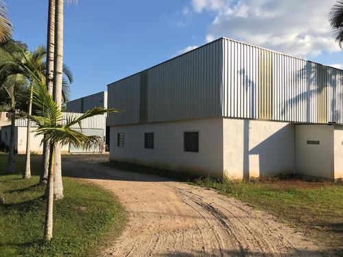galpão à venda, 1026 m² por r$ 499.000,00 - barracão - gaspar/sc - ga0072