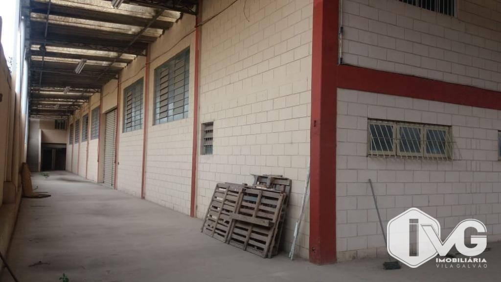 galpão à venda, 1140 m² por r$ 1.500.000,00 - jardim nossa senhora aparecida - guarulhos/sp - ga0236