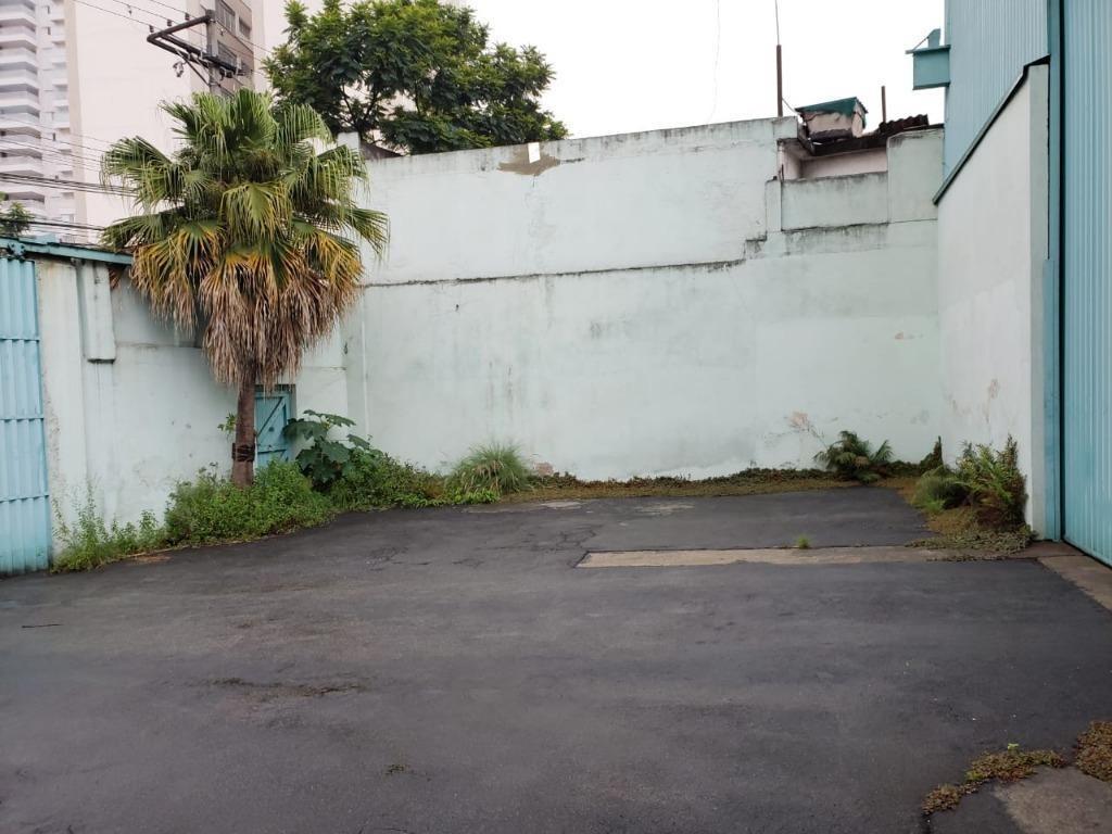 galpão à venda, 1500 m² por r$ 6.500.000,00 - tatuapé - são paulo/sp - ga0483
