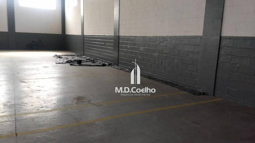 galpão à venda, 1620 m² - cidade industrial satélite de são paulo - guarulhos/sp - ga0094