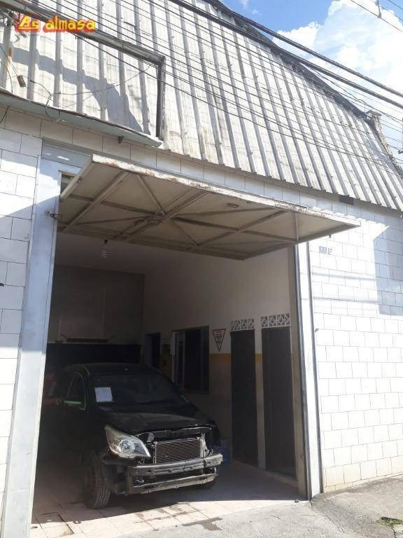 galpão à venda, 170 m² por r$ 425.000,00 - jardim vila galvão - guarulhos/sp - ga0009