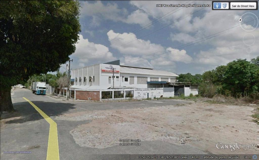 galpão à venda, 2500 m² por r$ 2.750.000 - paupina - fortaleza/ce - ga0001