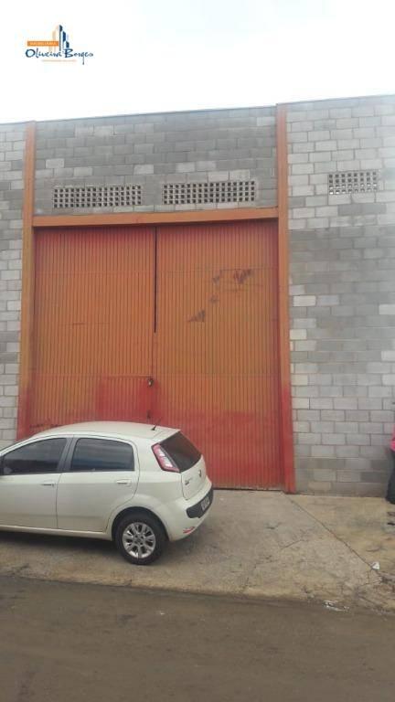 galpão à venda, 280 m² por r$ 300.000,00 - calixtolândia - anápolis/go - ga0012