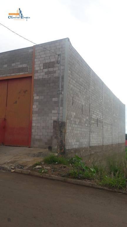 galpão à venda, 280 m² por r$300.000,00 - calixtolândia - anápolis/go - ga0012