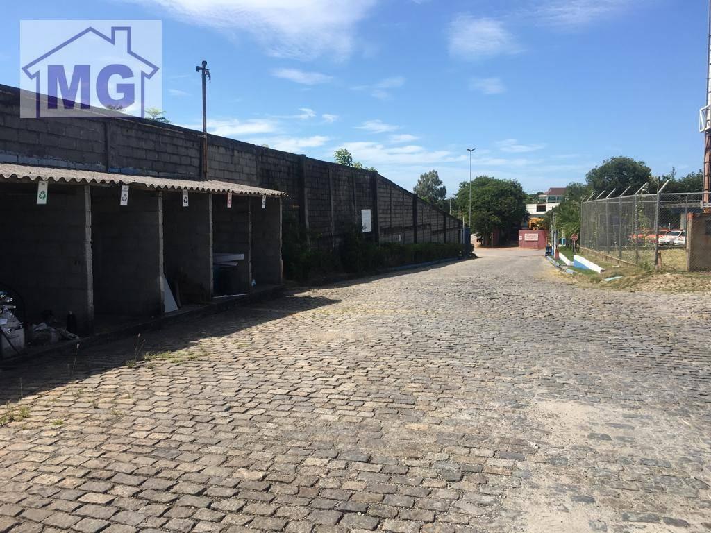 galpão à venda, 2880 m² por r$ 13.000.000 - novo cavaleiro - macaé/rj - ga0081