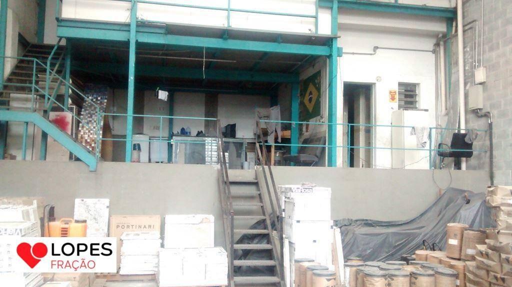 galpão à venda, 300 m² por r$ 1.702.500,00 - tatuapé - são paulo/sp - ga0037