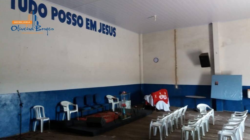 galpão à venda, 317 m² por r$ 550.000 - paraíso - anápolis/go - ga0018