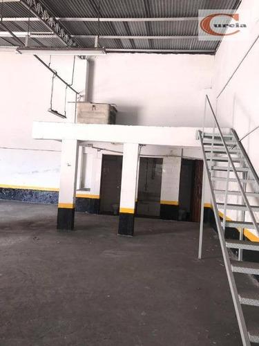 galpão à venda, 350 m² por r$ 3.200.000,00 - saúde - são paulo/sp - ga0051