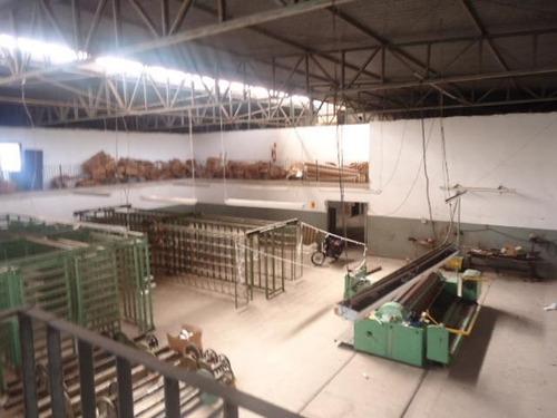galpão à venda, 4003 m² por r$ 4.000.000,00 - distrito industrial i - santa bárbara d'oeste/sp - ga0095