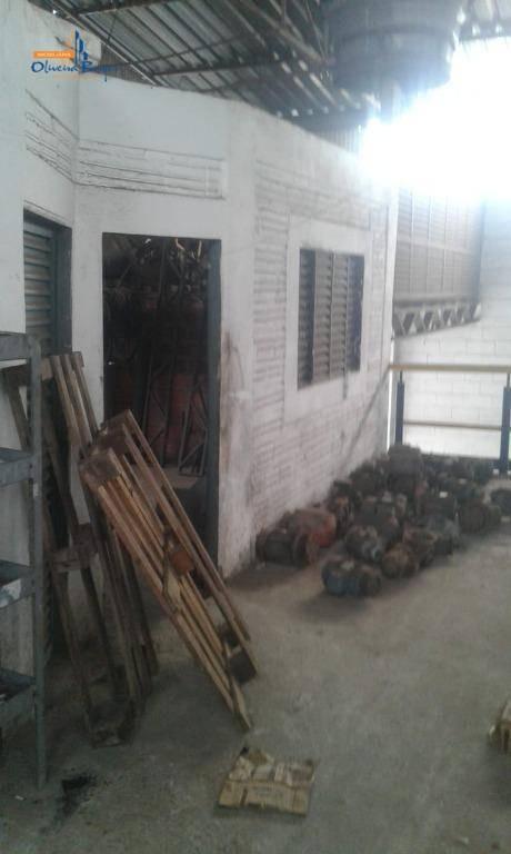 galpão à venda, 450 m² por r$ 900.000,00 - cidade jardim - anápolis/go - ga0015