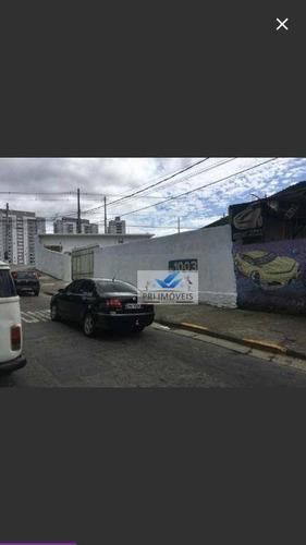 galpão à venda, 600 m² por r$ 2.340.000,00 - chico de paula - santos/sp - ga0011
