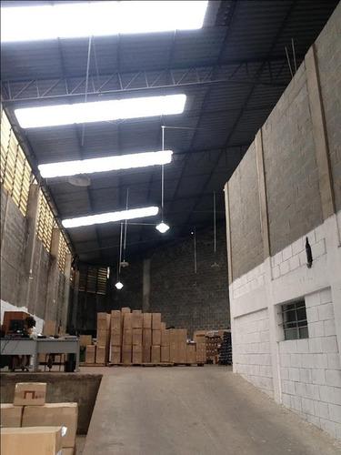 galpão à venda, 600 m² por r$ 2.500.000 - chácaras marco - barueri/sp - ga0050