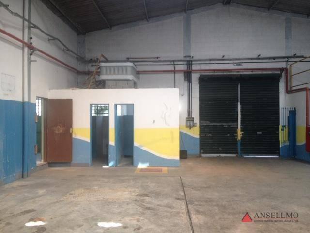 galpão à venda, 825 m² por r$ 1.484.000,00 - assunção - são bernardo do campo/sp - ga0336