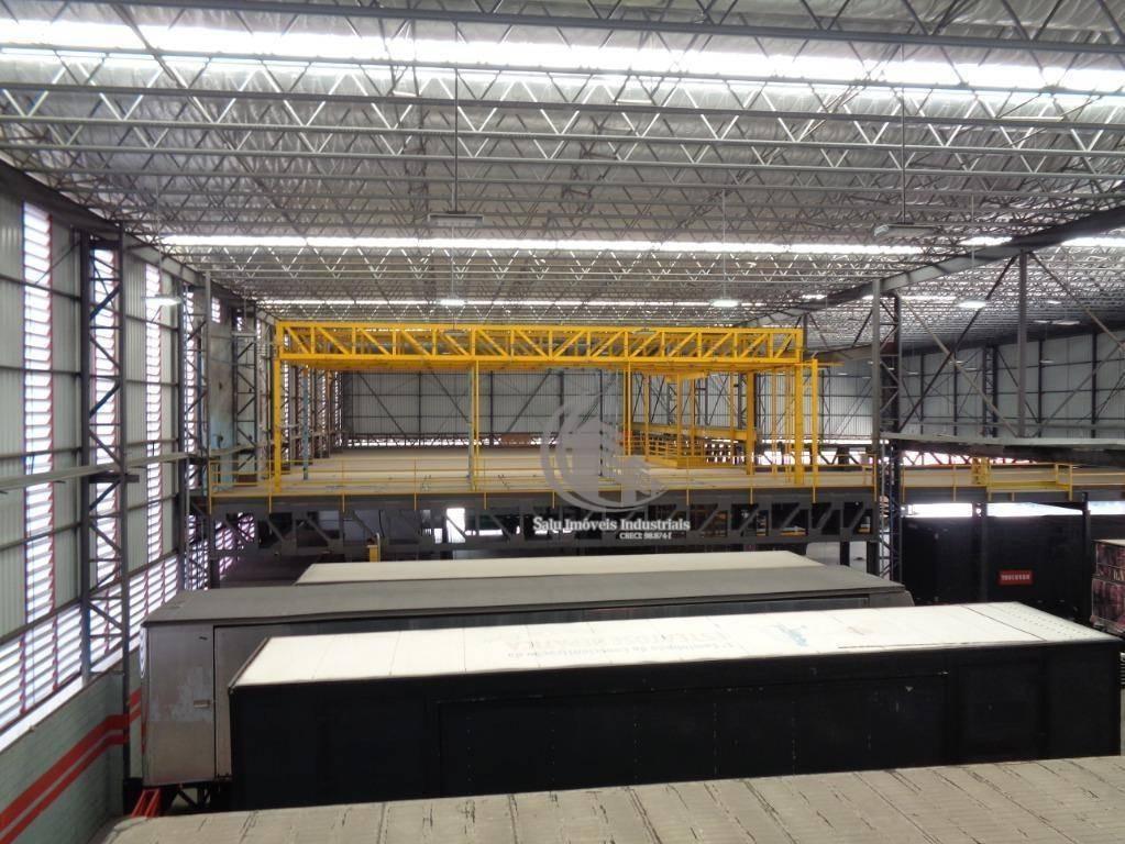 galpão à venda, com renda - 4514 m² por r$ 13.000.000 - cidade industrial satélite de são paulo - guarulhos/sp - ga0345