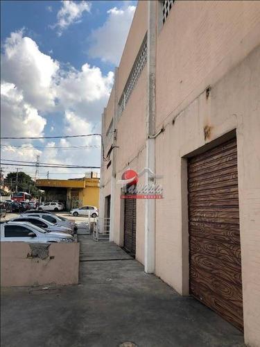 galpão à venda e locação, 1960 m² por r$ 7.000.000 - penha de frança - são paulo/sp - ga0068