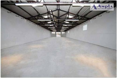 galpão à venda por r$ 3.130.000 ou locação por r$15.000,00, 700 m² - belenzinho - são paulo/sp - ga0020