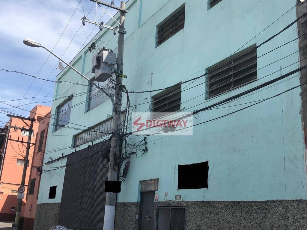 galpão à venda/locação, com 2200 m² por r$ 5.000.000 - vila monumento - são paulo/sp - ga0030