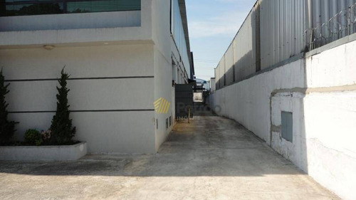 galpão zup 1 com 2000 m², 10 mts de pé direito, excelente local , paulicéia, são bernardo do campo. - ga0144