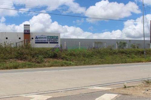 galpões beira pista com 2.500 m² e 5.000 m² - com docas e rampa, portaria exclusiva! - 1286