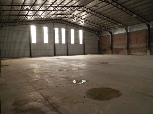 galpon de 1000 m2 en alquiler - parque industrial de lanus