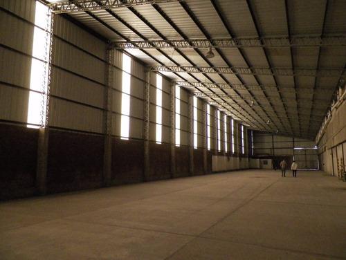 galpon de 1200 m2 en alquiler - parq inds tec de quilmes