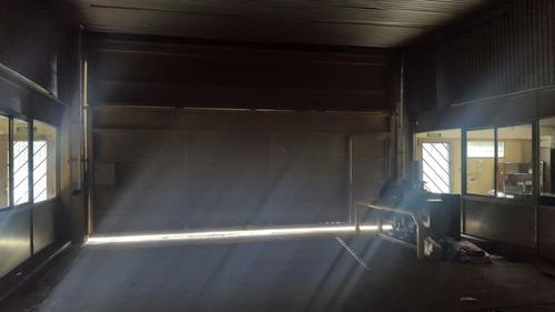 galpon de 2200 mts con techo de losa y parabolico